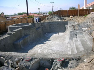 New Pool & Spa Construction La Quinta California